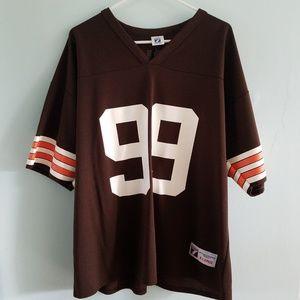 Vintage Logo 7 Cleveland Browns football jersey